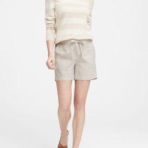 "4"" Linen-Cotton Pull-On Short"